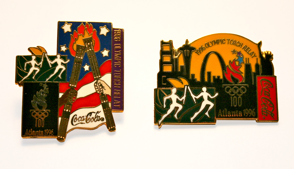 Coca-Cola 1996 Olympic Pin