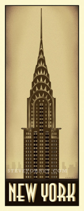 Forney's New York poster