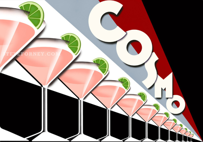 line of cosmo cocktails