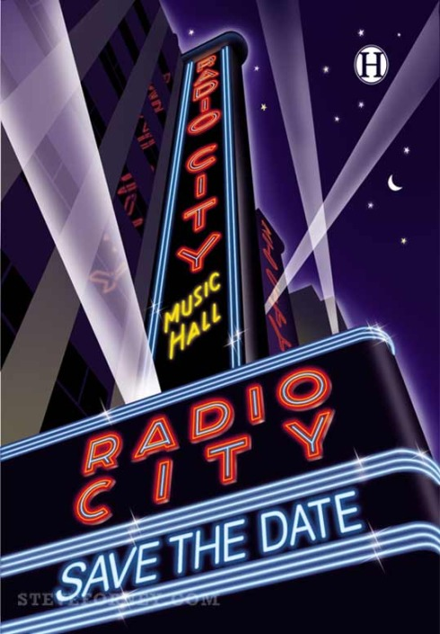 radio city marquee