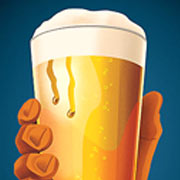 Raise a Beer Glass